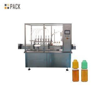 Μηχανή πλήρωσης υγρού περισταλτικής αντλίας για μικρό μπουκάλι φιαλιδίου
