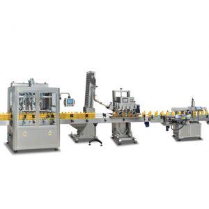 Πλήρως αυτόματη μηχανή πλήρωσης φιάλης 2 σε 1 για φιάλη για την παρασκευή ελαιολάδου