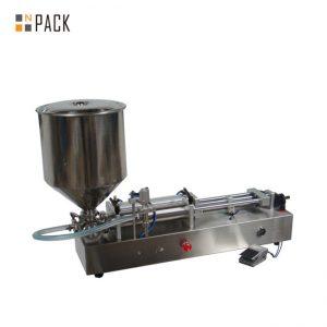 Πολύ δημοφιλής μηχανή πλήρωσης παγωτού / μηχανή διπλής κεφαλής πλήρωσης / μηχανή πλήρωσης νυχιών