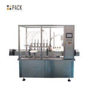 υάλινο φιαλίδιο φιάλης πλήρωσης φιάλη και μηχανή κάλυψης