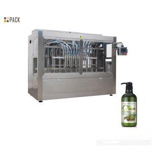 Πλήρης αυτόματη εμφιαλωμένη μηχανή πλήρωσης σαμπουάν για μπάνιο