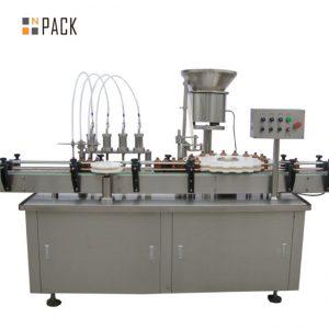 Υψηλής ποιότητας παχουλός γορίλα μπουκάλι πλήρωσης μηχανή e-υγρό e υγρό μηχανή πλήρωσης μικρή μηχανή πλήρωσης πτώση