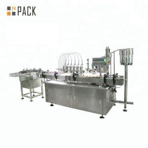 10ml 30ml 50ml Γυάλινο μπουκάλι γυάλινο μπουκάλι καλλυντικό αιθέριο έλαιο πλήρωσης μηχανή εμφιάλωσης