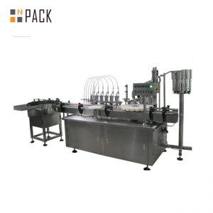 10ml & 60ml 3 σε 1 εργοστασιακή τιμή e υγρή πλήρωση και ετικετοποίηση ετικετών μηχανών πλήρωσης φιαλών