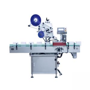 Αυτόματη μηχανή σήμανσης στρογγυλού δοχείου κάθετου τύπου